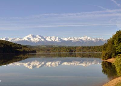 Le lac, miroir de nos Pyrénées