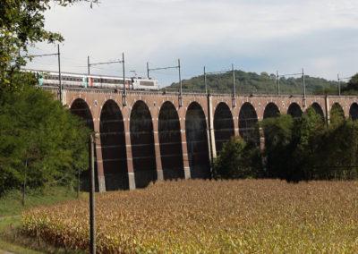 Rencontre entre histoire et modernité sur le viaduc de Lanespède