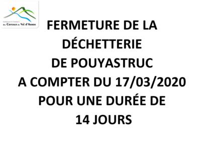 Déchetterie Pouyastruc