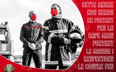 Tournée des calendriers du centre de secours de Tournay